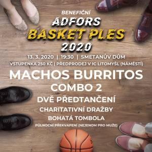 Adfors basket ples - 13. 3. 2020 v Litomyšli