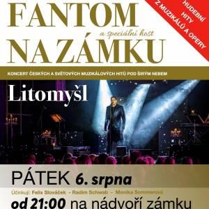 Fantom na Zámku Litomyšl - 6. 8. 2021