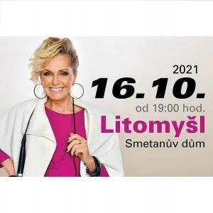 Helena Vondráčková - 16. 10. 2021 v Litomyšli